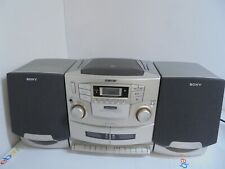 Sony Cd Am Fm Cassette Radio Player Cfd-Zw755 BoomBox Sound Modes