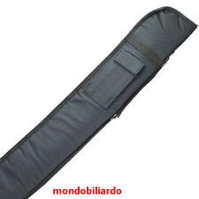 FODERO MORBIDO NERO STECCA DA BILIARDO POOL INTERNAZIONALE 5 BIRILLI MOD.PRINCE