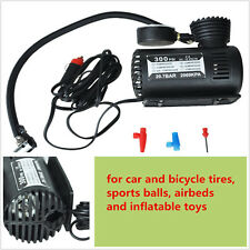 New 300 PSI Mini Air Compressor 12V Car Auto Portable Pump Tire Inflator w/gauge