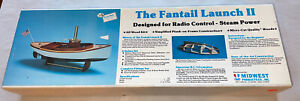 Midwest Products The Fantail Launch II Complete Boat KIT #958 New Sealed Parts