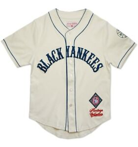 New York Black Yankees Men's Heritage Jersey Ivory