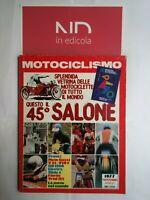 MOTOCICLISMO NOVEMBRE 1977 - GUZZI V35 V50  HARLEY DAVIDSON 1200 ELECTRA GLIDE