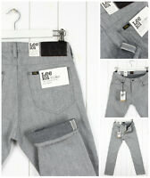 LEE 101 RIDER 11oz JEANS SELVAGE FABRIC DENIM TAPERED SLIM  FIT LUKE _ ALL SIZES