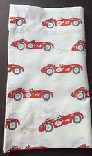Pottery Barn Kids Vintage Cars~ Custom Valance 64 By 14 1/2 - Red Race Car!