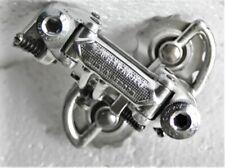 Vintage Campagnolo Nuovo Record PAT.84 Rear Derailleur Good Metal Pulley Wheels