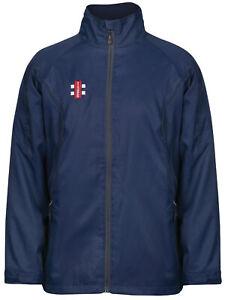 New Gray-Nicolls Cricket - Storm Training Shower Jacket Navy [Various Sizes]