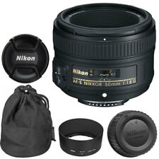 NEW Nikon 50mm f/1.8G AF-S NIKKOR Lens for Nikon DSLR Cameras