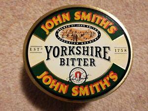 Beer Pump Tap Badge Clip Metal - John Smith's Yorkshire Bitter - Man-Cave Bar