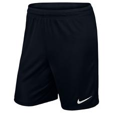 Nike Park II Knit Pantalón corto pantalones de Fútbol para hombre entrenamiento XL negro
