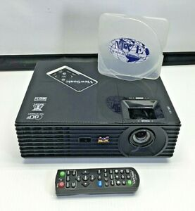 LOT OF 3 VIEWSONIC PJD5132 VS14926 DLP PROJECTOR 4100+ LAMP HOURS W/ REMOTE
