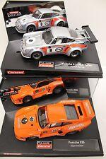 Carrera 2 x Porsche 934 RSR Turbo Martini + 935 Jägermeister 40 Jahre NEU 911