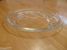 "RARE Pyrex 815 Broiler Serving Serving 15"" Tray Platter with Grease Trap VINTAGE"