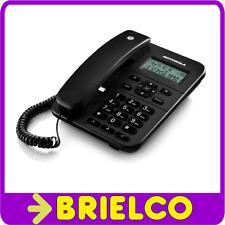 TELEFONO SOBREMESA CON DISPLAY IDENTIFICADOR LLAMADA EN ESPERA MEMORIAS BD4667