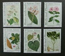 United Nation Medicinal Plants 1990 Flower Leaf Flora (stamp) MNH