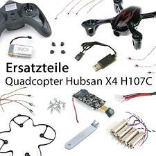efaso Ersatzteile Quadcopter Hubsan X4 H107C - Haube Rotorblätter Akku Motor