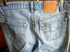 34x32 FIT True Vtg 80s Levis 501 Buttonfly Mens Raw Denim CLassic Jeans  USA