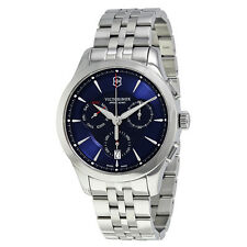 Victorinox Swiss Army Alliance Chronograph Blue Dial Mens Watch 241746