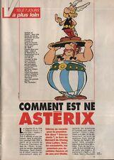Coupure de presse Clipping 1991 Comment est né Astérix (3 pages)