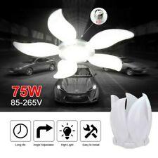 LED Garage Shop Work Lights  E27 Home Ceiling Fixture Deformable Lamp