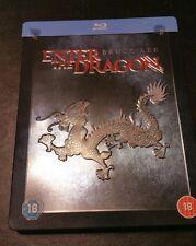 Enter The Dragon Bruce Lee Steelbook Limited Edition Blu-ray《 REGION FREE》 RARE