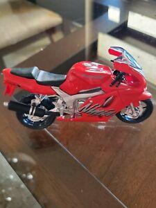 Maisto 2 Wheelers Kawasaki Ninja diecast motorcycle 1:18 red