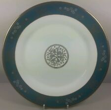 WEDGWOOD AGINCOURT BLUE & GOLD R4513 DINNER PLATE 27.7CM (PERFECT)