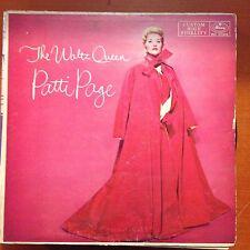 PATTI PAGE-THE WALTZ QUEEN-MONO LP-MERCURY-20318-VG+