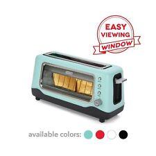 Dash Dvts501Aq Toaster, 2 Slice, Aqua