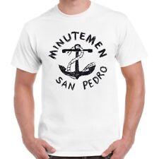 Minutemen Anchor San Pedro Punk Rock Retro T Shirt 1097