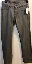Women's Quicksilver Denim Jeans Slim Straight Leg Size 26 In Grey