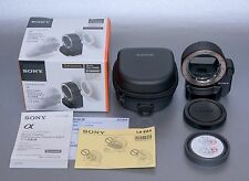 Sony Alpha LA-EA4 Adapter to Attach A-mount Lenses to E-mount Camera with TMT