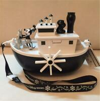 Tokyo Disney Resort Limited Mickey Mouse Steamboat Willie Popcorn Bucket NEW f/s