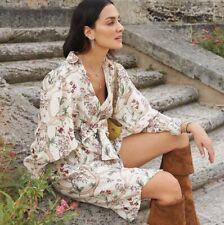 H&M Linen Shirt Dress Bloggers Sold Out Oversized Medium