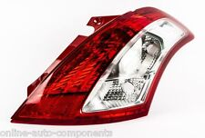 Suzuki Swift New Rear TAIL Light BACK Lamp LENS 2010>2013 O/S DRIVERS SIDE