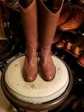 Women's  FRYE Cowgirl style Western leather boots Sz. 8B
