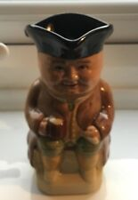 """WOOD & SONS ENGLAND """"TOBY"""" No.3 CHARACTER TOBY JUG 11cms"""