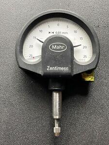 Mahr Feinzeiger ± 25µm 0,01mm, Messuhr micron Zentimess