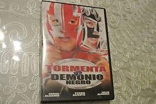 DVD: TORMENTA VS. DEMONIO NEGRO.....JORGE ALBAMA................EN ESPANOL