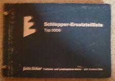 Eicher Schlepper 3008 Ersatzteilkatalog
