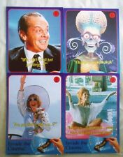 Set of 10 Mars Attacks 1996 Vintage Trading Cards from the UK Barclays Bank