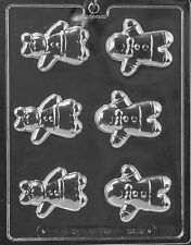 GINGERBREAD MAN BOY GIRL PIECES mold Chocolate Candy plaster candy molds