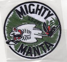 USS Manta SS 299 - Mighty Manta BC Patch Cat No B783