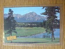 1900's-50's GOLF foto cartolina: NORD AMERICA E CANADA-Parco di Jasper Lodge,