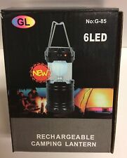 Solar Rechargeable Lantern Emergency Light & Phone Charger *Works w/o Batteries!