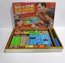 Science Fair Radio Shack 160 in One Electronic Project Kit # 28-258