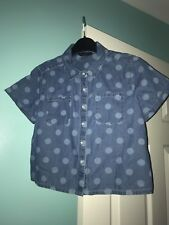 Girls Denim Top / Shirts Age 10-11
