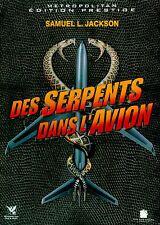 DVD Ed. Prestige //  DES SERPENTS DANS L'AVION  // S.L Jackson / NEUF cellophané
