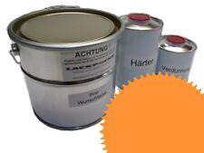 1,5 Set Litre 2K Revêtement de sol RAL 1033 Jaune Brillant Peinture Atelier neu