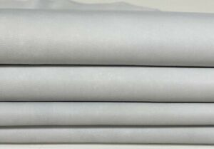 UNDYED chrome dye unfinished soft Lambskin leather skins 7+sqf 0.9mm #A7442
