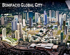 Philippines - BONIFACIO GLOBAL CITY - Travel Souvenir Flexible Fridge Magnet